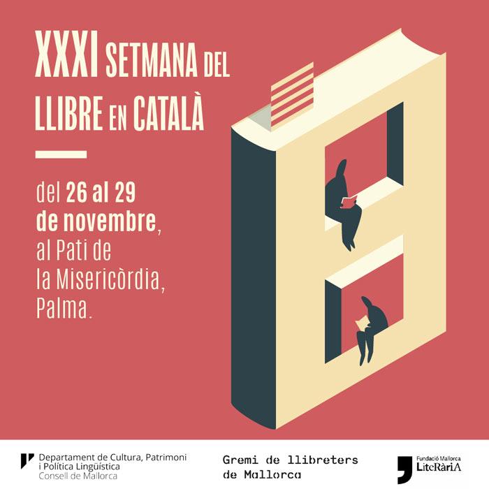 Vine a gaudir de la Setmana del Llibre en Català 2020 al pati de la Misericòrdia