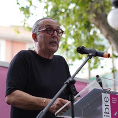 """""""Llegir tot alçant el cap"""", pregó de Sebastià Perelló, a la 39 Fira del Llibre de Palma"""