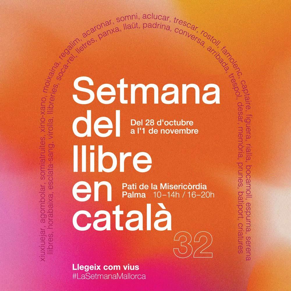 Programa d'activitats de la 32a Setmana del llibre en català